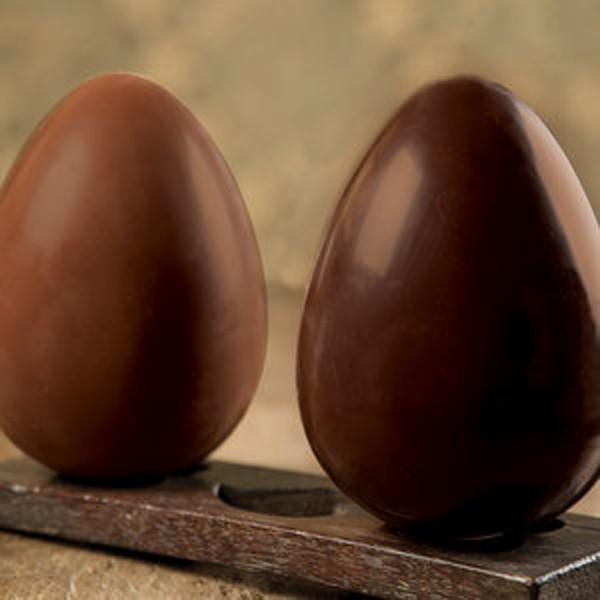 Ovos da linha Equilíbrio, da CauChocolates (Foto: Divulgação)