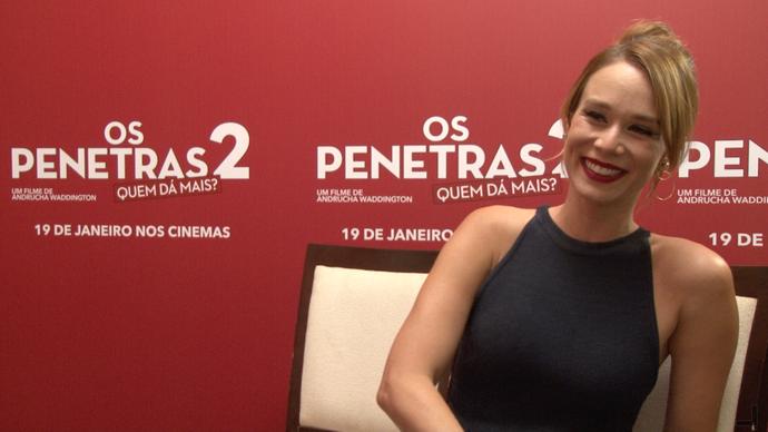 Mariana Ximenes dá dicas nos bastidores do filme. (Foto: Divulgação/ TV Gazeta ES)