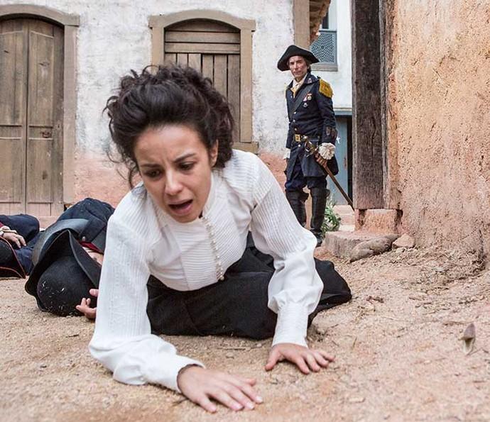 Tal como seu pai, Tiradentes, Joaquina também será levada à forca  (Foto: Felipe Monteiro )