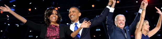 Reeleito, Obama diz que volta à Casa Branca mais determinado e inspirado (Votos de hispânicos e mulheres foram decisivos para vitória de Obama  (Reeleito, Obama diz que volta à Casa Branca 'mais determinado e inspirado' (AFP)))