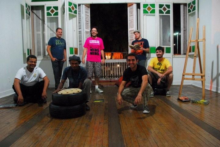 Fela e sua banda Mercado de Peixe (Foto: Arquivo Pessoal)