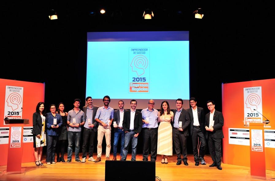 Vencedores do Prêmio Empreendedor de Sucesso 2015