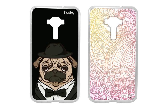 Capa estampada para Zenfone 3 deixa o celular com sua personalidade (Foto: Divulgação/Husky)