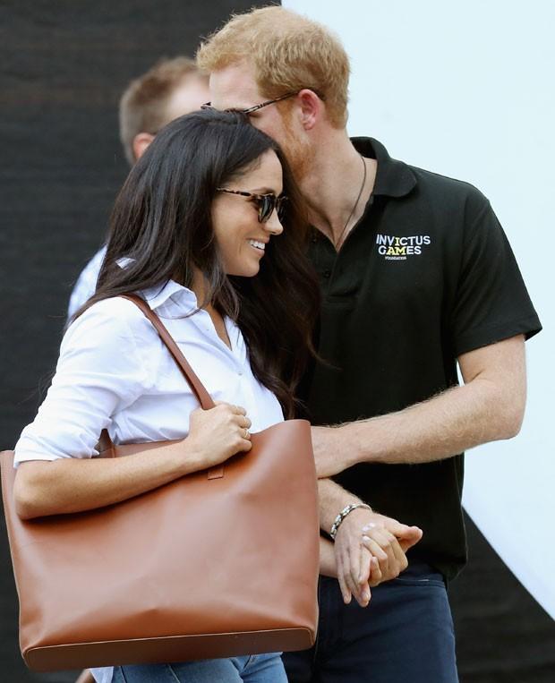 Megan e Harry: primeira aparição juntos (Foto: Getty Images)