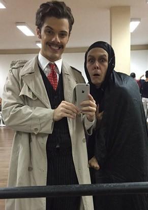 Dr. Frankstein e seu servo, Igor (Foto: Divulgação)