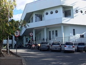 Pronto socorro de Divinópolis (Foto: Reprodução/TV Integração)