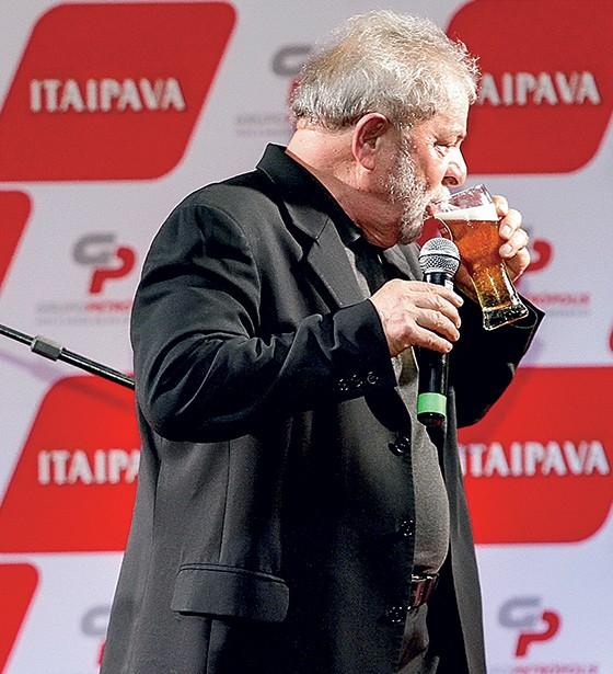 Lula recebeu R$ 900 mil da Cervejaria Itaipava (Foto: Ricardo Fernandes/DP/D.A Press)