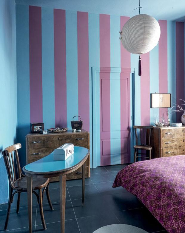 11 ideias para mudar a parede da sua casa casa vogue for Pintura de paredes interiores fotos