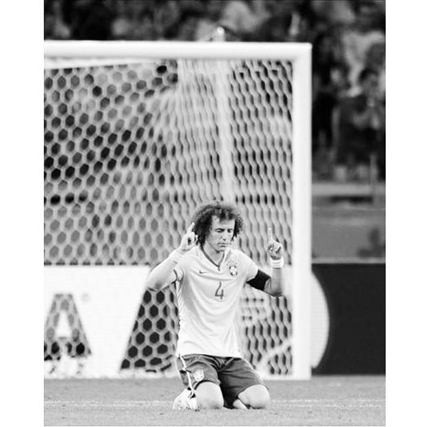 David Luiz (Foto: Reprodução/ Instagram)