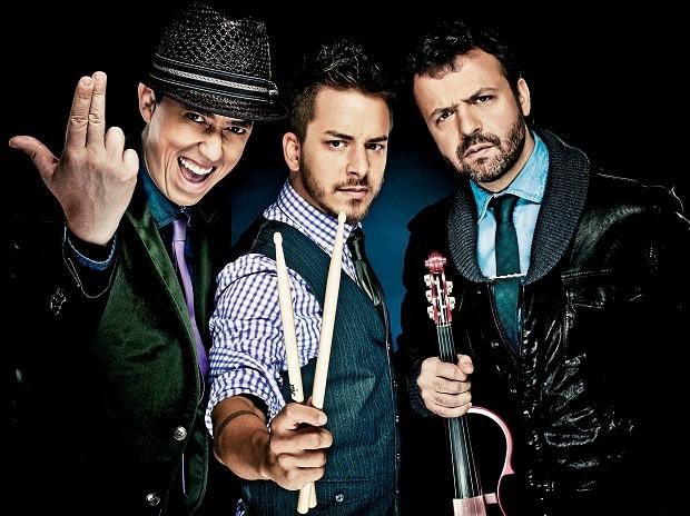 Julio Torres, Junior Lima e Amon Lima, integrantes do Dexterz (Foto: Divulgação/Gabriel Wickbold)