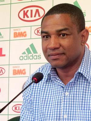 Cesar Sampaio do Palmeiras (Foto: Diego Ribeiro / Globoesporte.com)
