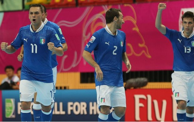 Saad Assis futsal Itália (Foto: Getty Images/FIfa)