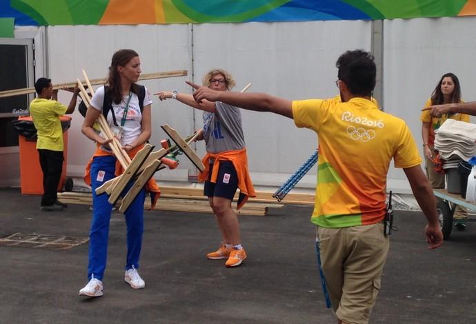 Holanda Vila Olimpica rodos (Foto: Zeca Azevedo)