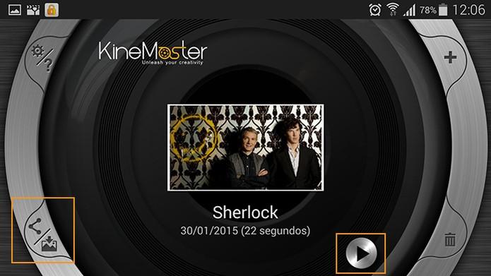 Resultado final do seu videoclipe personalizado do KineMaster (Foto: Reprodução/Barbara Mannara)