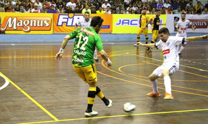 AABB x Sorocaba Futsal, Liga Paulista, Falcão (Foto: Yuri Gomes / Magnus Futsal)