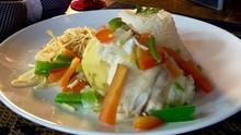 Peixe com legumes: conheça a receita do músico Duca Leindecker (Reprodução/RBS TV)