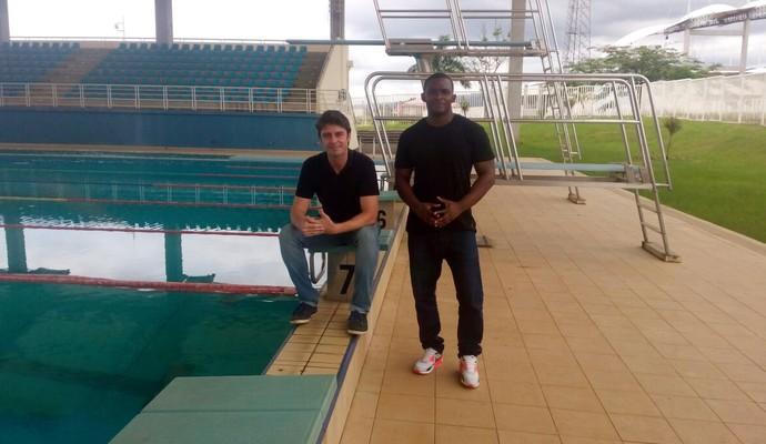 Kiko Menezes e Eric Moussmabani (Foto: Priscila Carvalho)