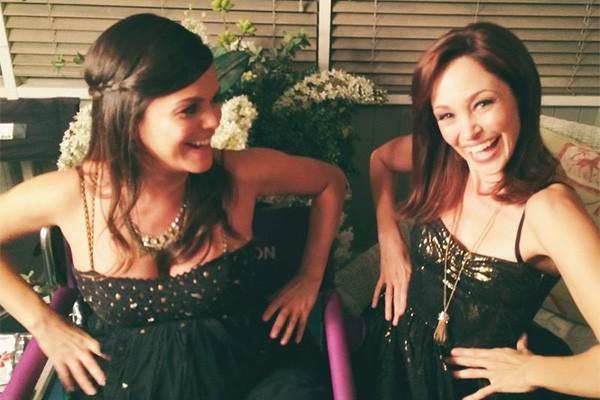 A dupla de atrizes se reuniu há pouco, quando Autumn fez uma participação em 'Hart of Dixie', atração estrelada por Rachel. (Foto: Reprodução/Instagram)