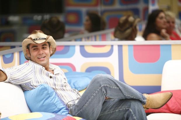 André do BBB 9 (Foto: TV Globo / Fabrício Mota)