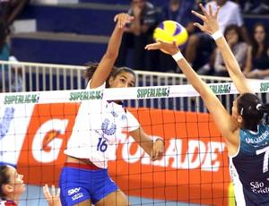 Vôlei, Luciane, SÃO CAETANO X UNILEVER (Foto: Luiz Doro / Adorofoto)