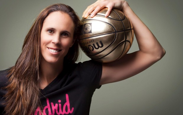 A espanhola Amaya Valdemoro é considerada a maior jogadora espanhola da história (Foto: Daniel Valdemoro)