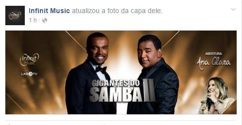 Gigantes do Samba  (Foto: Facebook / Reprodução)