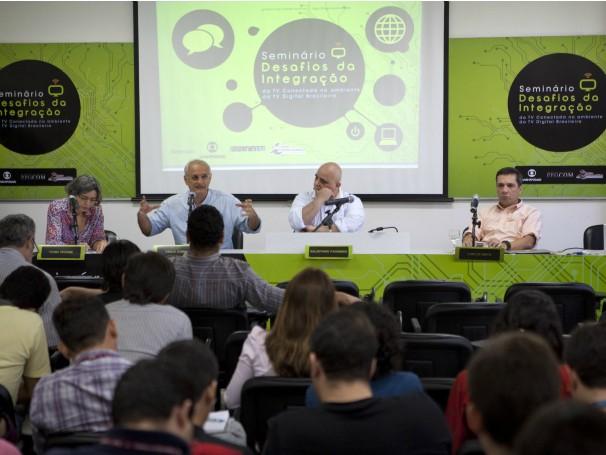 Seminário Desafios da Integração da TV Conectada no Ambiente da TV Digital Brasileira (Foto: Daniela Nader/Divulgação)