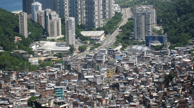 Favela da Rocinha, no Rio de Janeiro (Foto: Photo Pin)