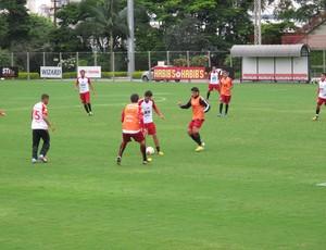 Paulo Henrique Ganso treino São Paulo (Foto: Carlos Augusto Ferrari)