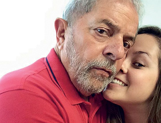 Bia Lula é conhecida como uma liderança da Juventude do PT (Foto: Reprodução)