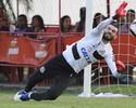 Santos treina com Vanderlei e Ricardo Oliveira no time titular; Zeca fica fora
