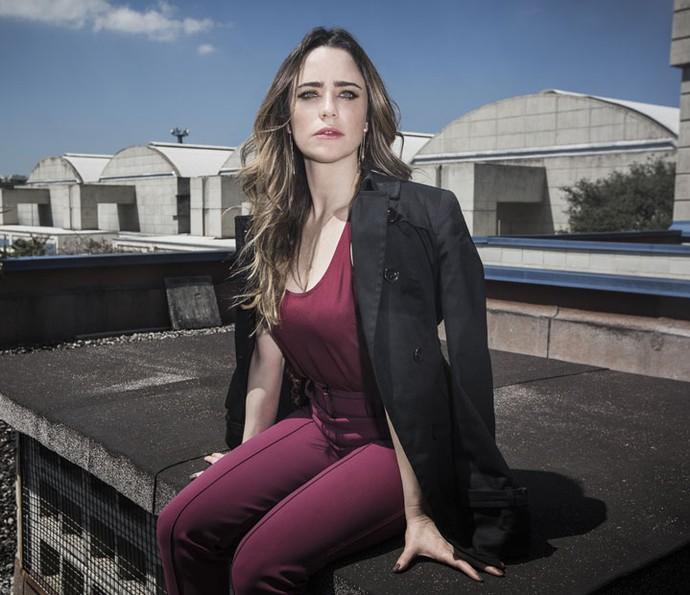 Fernanda Vasconcellos fala sobre o desafio de viver a personagem: 'A Bruna mente falando coisas lindas' (Foto: Ellen Soares/Gshow)