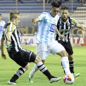 Juninho Macaé x Ceará - Campeonato Brasileiro Série B (Foto: Tiago Ferreira)