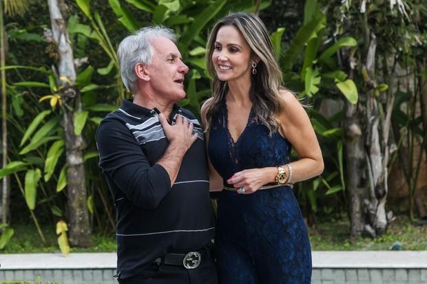 Otávio Mesquita e Melissa Wilman (Foto: Manuela Scarpa/Brazil News)