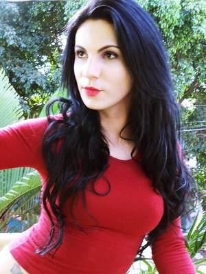 A transexual Marie Flora da Silva (Foto: Marie Flora da Silva/Arquivo Pessoal)