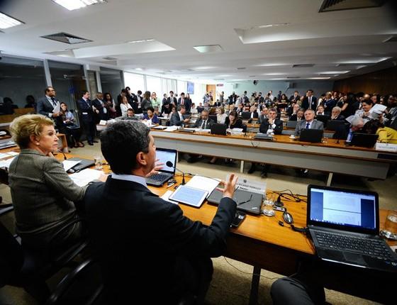 CAS rejeita relatório sobre projeto da reforma trabalhista (Foto: Marcos Oliveira/ Agência Senado)