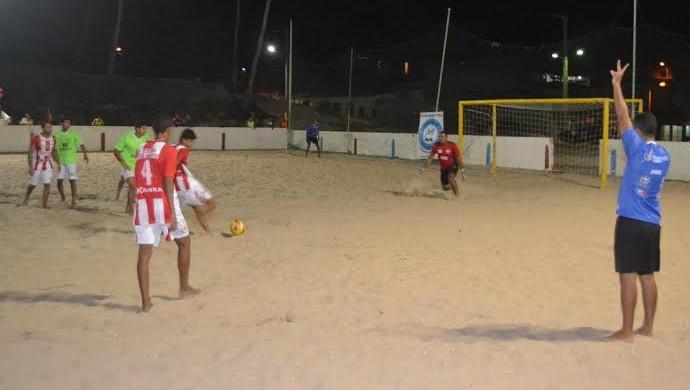 Alagoano de Beach Soccer não foi realizado em 2014 (Foto: Reprodução/FALABS)