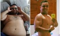 'Resolvi ser um bom exemplo', diz pai que perdeu 61kg por causa dos filhos (Reprodução/Arquivo Pessoal)