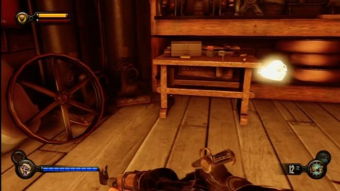 Bioshock Infinite: ao chegar na Chen Li, procure pelo item entre as prateleiras (Foto: Reprodução/IGN Wiki)