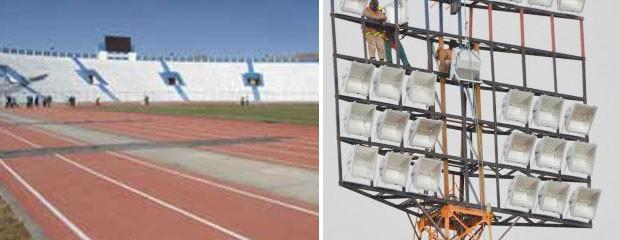 Estádio onde o Corinthians enfrentará o San José inaugurou nova iluminação (Foto: Reprodução/Site oficial do San José)