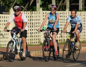 1º Open Rio Branco de Ciclismo  (Foto: Nathacha Albuquerque)