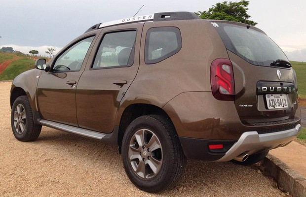 Renault Duster facelift (Foto: Michelle Ferreira / Autoesporte)