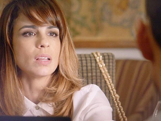 'Tudo o que eu disse foi de livre e espontânea vontade', diz Danielle em gravação (Foto: TV Globo)