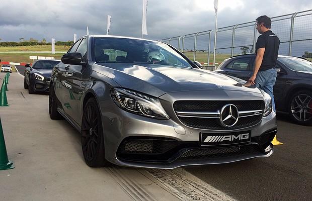 Mercedes AMG C63 S (Foto: Autoesporte/ Guilherme Blanco Muniz)