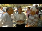 Renato Abi-Ramia visita hospital de Friburgo, RJ, e fala sobre saúde