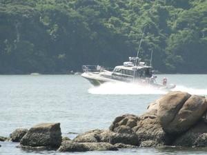 Capitania dos Portos Espírito Santo (Foto: Reprodução/TV Gazeta)