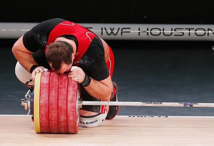 Aleksey Lovchev - Mundial de levantamento de peso (Foto: Getty Images)