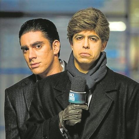 Marcelo Adnet e Marcius Melhem em novo programa (Foto: Estevam Avellar/TV Globo)