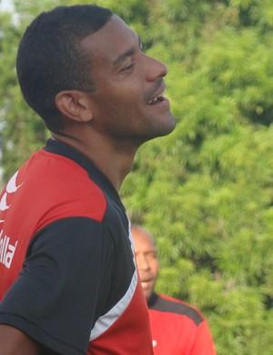 Tuta e Jarbas durante treino no Flamengo-PI (Foto: Emanuele Madeira/GLOBOESPORTE.COM)