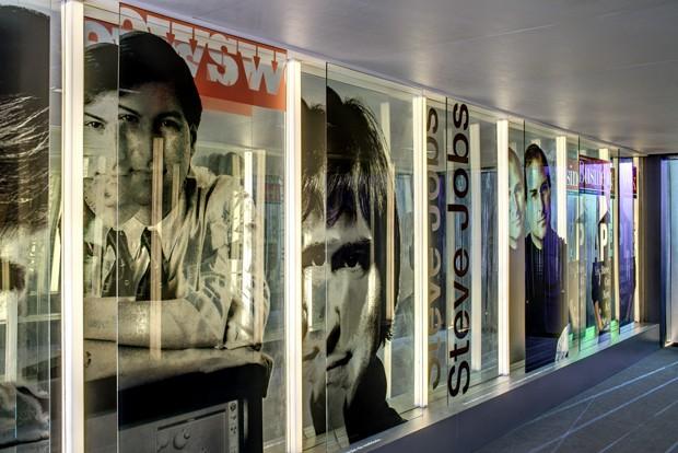 Steve Jobs é homenageado com mostra no MIS, em São Paulo (Foto: Divulgação)